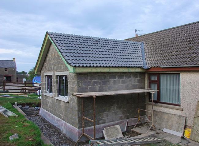 Extension habitation à Nomain