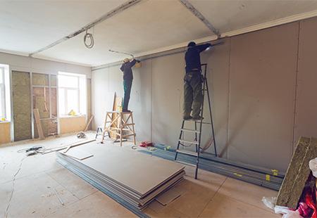 Rénovation intérieure à Nomain près d'Orchies