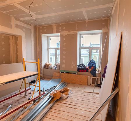 Rénovation intérieure à Nomain