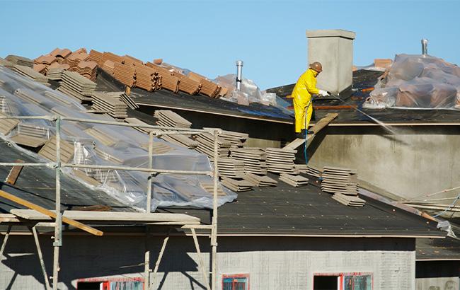 Rénovation extérieure toiture à Nomain
